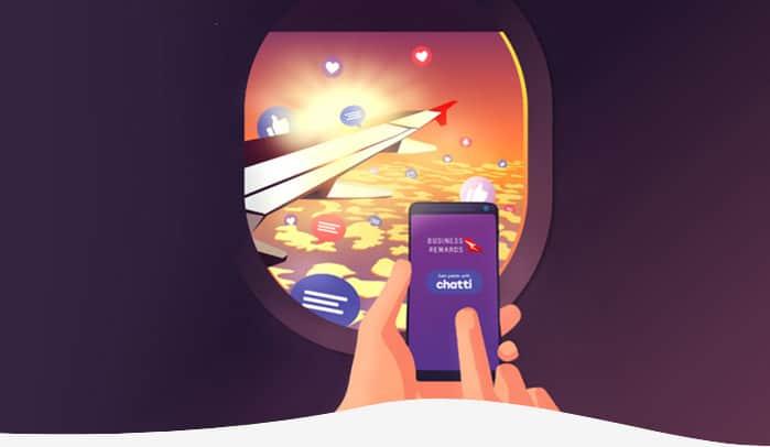 Mobile Header Qantas