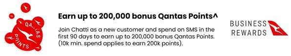 Earn Qantas Points Promo